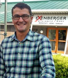 Steinmetzmeister und Inhaber Andreas Mayer