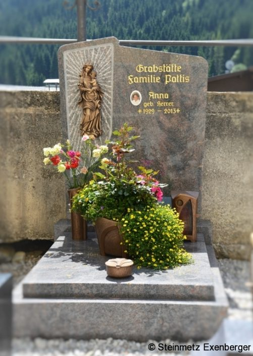 Berühmt Steinmetz Exenberger | Grabgestaltung @AE_95